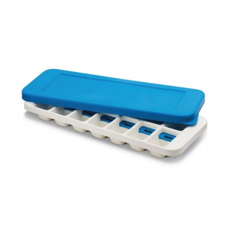Ice-Cube Tray With Stackable Lif - Quick Snap White And Blue - Joseph Joseph | Ice-Cube Tray With Stackable Lif - Quick Snap ...