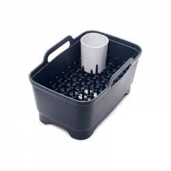 Dishwashing and Draining Set - Wash&Drain Plus Grey - Joseph Joseph