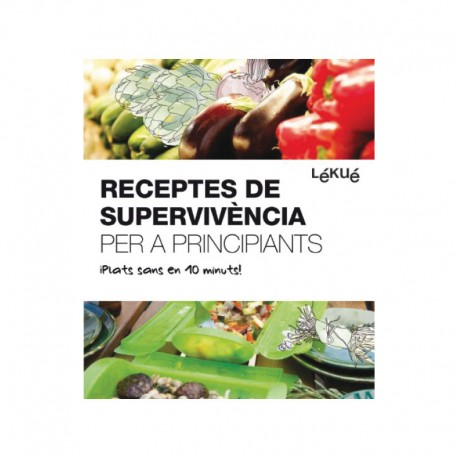 Livro De Receitas De Sobrevivência Para Principiantes-Cat - Lekue LEKUE LKLIB00011