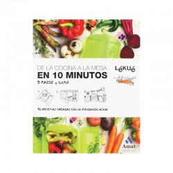 Livro De Receitas Da Cozinha À Mesa Em 10 Minutos. - Lekue LEKUE LKLIB00017