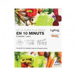 Livro De Receitas Da Cozinha À Mesa Em 10 Minutos - Catalão - Lekue LEKUE LKLIB00018