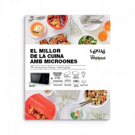 Cookbook - The Best Of Microwave Cooking - Catalan - Lekue | Cookbook - The Best Of Microwave Cooking - Catalan - Lekue