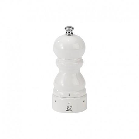 Salt Mill 12cm - Paris U´Select White Lacquered - Peugeot Saveurs | Salt Mill 12cm - Paris U´Select White Lacquered - Peugeot...