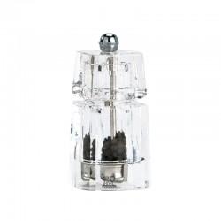 Pepper Mill 11cm - Chaumont Transparent - Peugeot Saveurs
