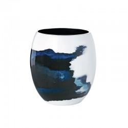Medium Vase Ø16,6Cm - Aquatic Blue/white - Stelton STELTON STT450-21
