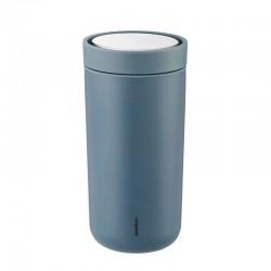 Copo Térmico - To Go Click Azul Petróleo Mate (soft Petrol) - Stelton STELTON STT580-15
