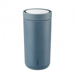 Thermal Cup - To Go Click Soft Petrol - Stelton | Thermal Cup - To Go Click Soft Petrol - Stelton