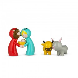 Crib Figurines - Happy Eternity Baby - A Di Alessi A DI ALESSI AALEAGJ01S2