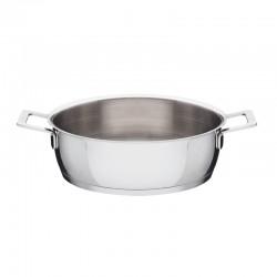 Low Casserole 24Cm - Pots And Pans Silver - A Di Alessi A DI ALESSI AALEAJM102/24