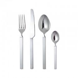 Cutlery Set 24 Pieces - Dry Silver - Alessi ALESSI ALES4180S24