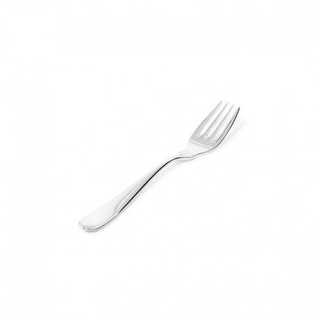 6 Fish Fork Set - Nuovo Milano Silver - Alessi ALESSI ALES5180/17