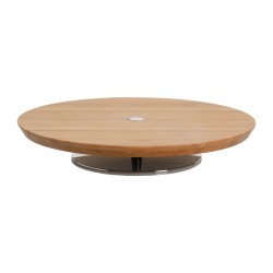 Cheese Board With Stand - Ape Wood - Alessi