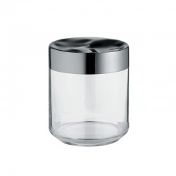 Kitchen Box In Glass 75cl - Julieta Transparent - Alessi