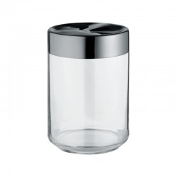 Kitchen Box In Glass 100cl - Julieta Transparent - Alessi