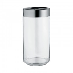 Kitchen Box In Glass 150Cl - Julieta Transparent - Alessi