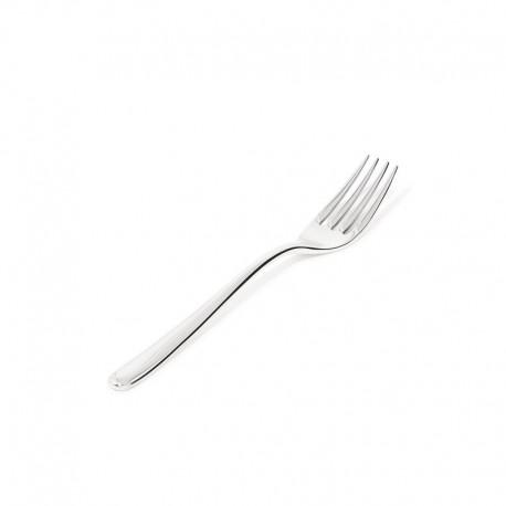 Set de 6 Tenedores de 4 Dientes - Caccia Plata - Alessi ALESSI ALESLCD01/2R4