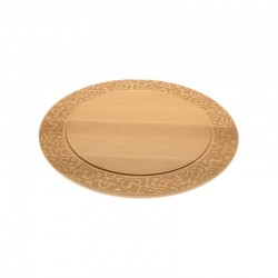 Tábua para Queijos - Dressed in Wood Castanho - Alessi ALESSI ALESMW23