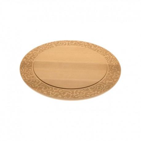 Cheese Board - Dressed in Wood Brown - Alessi ALESSI ALESMW23