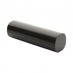 Cotton Pad Dispenser - Birillo Dark Grey - Alessi