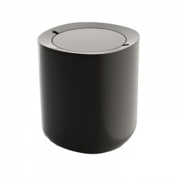 Bathroom Waste Bin - Birillo Dark Grey - Alessi