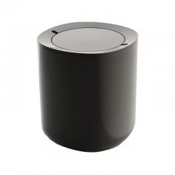 Caixote Do Lixo - Birillo Cinza Escuro - Alessi
