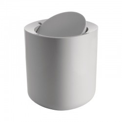 Bathroom Waste Bin - Birillo White - Alessi