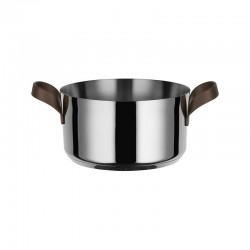 Casserole with Handles 2,8lt - Edo Steel - Alessi ALESSI ALESPU101/20