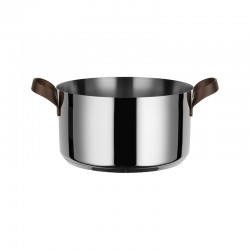 Casserole with Handles 5lt - Edo Steel - Alessi ALESSI ALESPU101/24