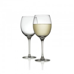 Set of 6 Glasses for White Wine - Mami XL Transparent - Alessi