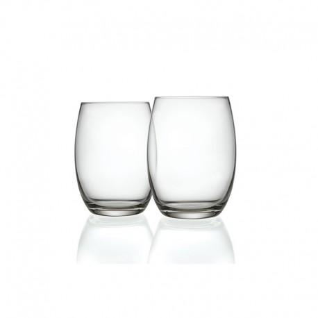 Conjunto de 6 Copos para Bebidas Longas Tumbler - Mami XL Transparente - Alessi ALESSI ALESSG119/3S2