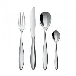Cutlery Set 24 Pieces - Mami Silver - Alessi ALESSI ALESSG38S24
