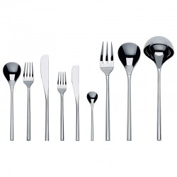 Cutlery Set 75 Pieces - MU Silver - Alessi