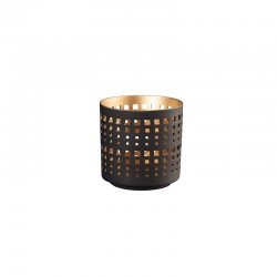 Lantern ø7cm - Windlichter Black And Gold - Asa Selection ASA SELECTION ASA10205426