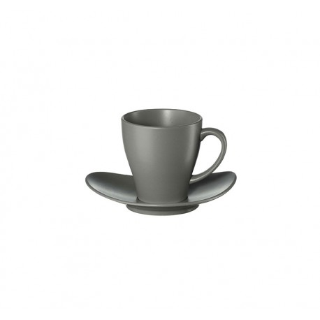 Cup With Saucer - Cuba Grey - Asa Selection ASA SELECTION ASA1224400