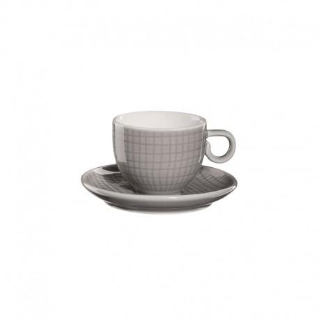 Espresso Taza Con Platillo - Voyage Gris - Asa Selection ASA SELECTION ASA15011144