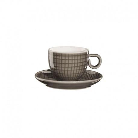 Espresso Taza Con Platillo - Voyage Gris Oscuro - Asa Selection ASA SELECTION ASA15011312