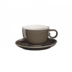 Cup With Saucer - Voyage Dark Grey - Asa Selection