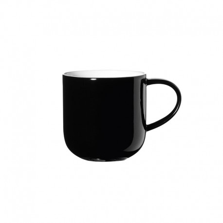 Caneca 400Ml - Coppa Preto E Branco - Asa Selection ASA SELECTION ASA19100014