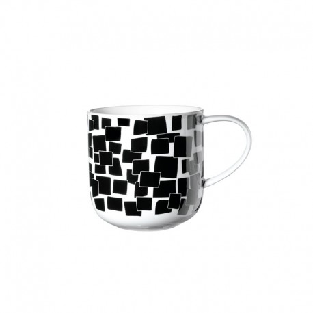 Mug Squares 400Ml - Coppa Black And White - Asa Selection ASA SELECTION ASA19102014