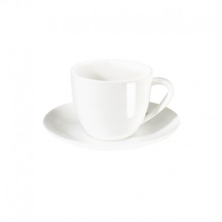 Cappuccino Cup With Saucer - À Table White - Asa Selection ASA SELECTION ASA1929013
