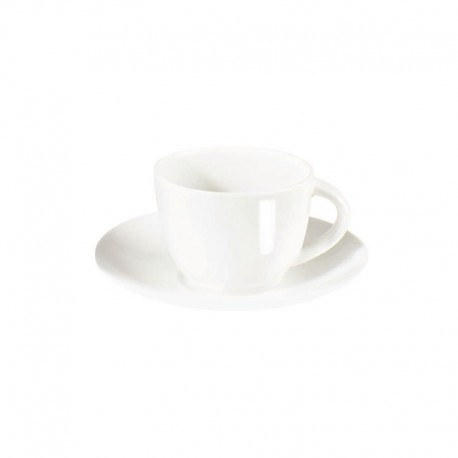 Espresso Cup With Saucer - À Table White - Asa Selection ASA SELECTION ASA1930013