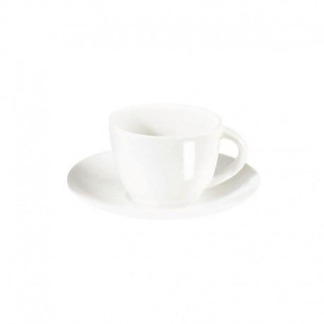 Taza Para Espresso Con Platillo - À Table Blanco - Asa Selection ASA SELECTION ASA1930013