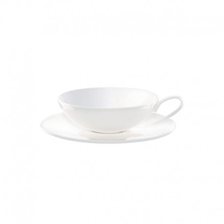 Tea Cup With Saucer 170ml - À Table White - Asa Selection ASA SELECTION ASA2018013