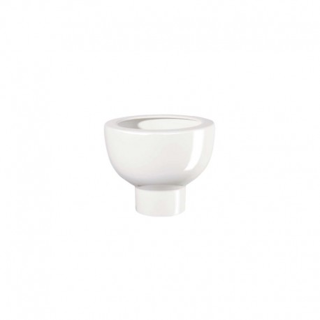 Planter On Foot 20Cm - Midoro White - Asa Selection ASA SELECTION ASA2218147