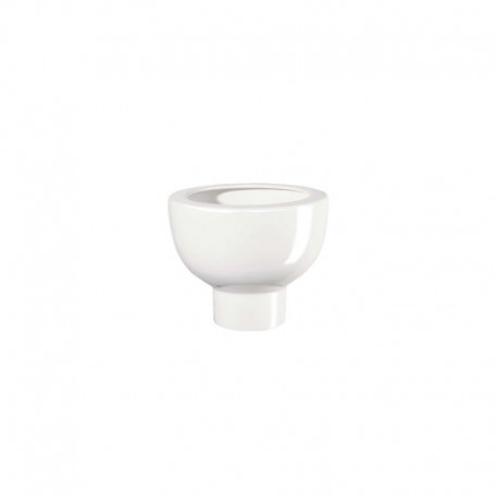 Planter On Foot 10Cm - Midoro White - Asa Selection ASA SELECTION ASA2219147