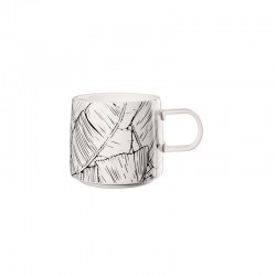Mug - Muga Leaves Black And White - Asa Selection ASA SELECTION ASA29061082