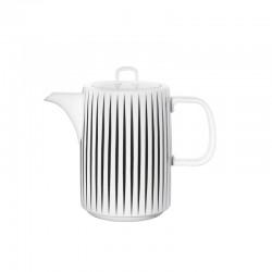 Cafeteira Riscas - Muga Branco E Preto - Asa Selection