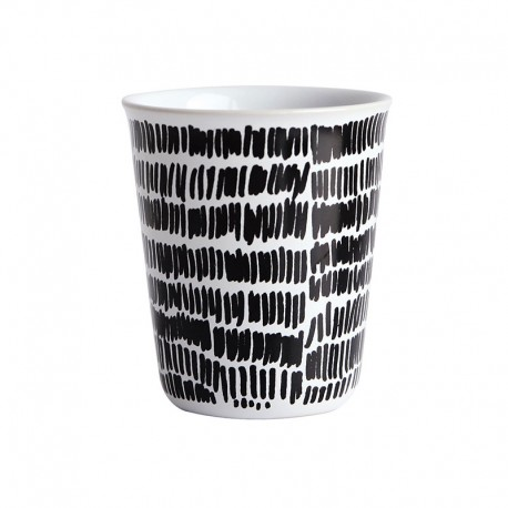 Espresso Cup Mini Stripes Ø6,5Cm - Coppetta Black And White - Asa Selection ASA SELECTION ASA44004214