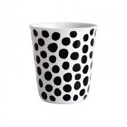 Copo Espresso Pontos Ø6,5Cm - Coppetta Branco E Preto - Asa Selection