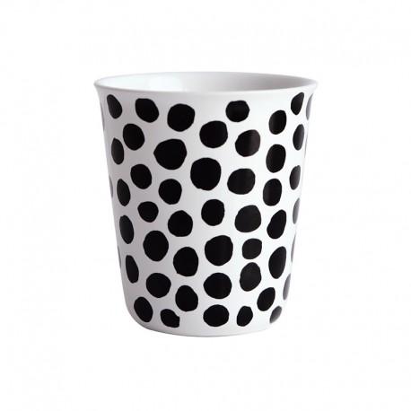 Copo Espresso Pontos Ø6,5Cm - Coppetta Branco E Preto - Asa Selection ASA SELECTION ASA44007214